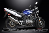 Výfuk Delkevic Suzuki GS 500 E (-03) Nerez Tri-ovál 420mm