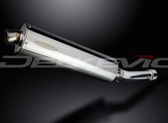 Výfuk Delkevic Suzuki GS 500 F (04-10) Nerez 450mm