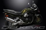 Výfuk Delkevic Suzuki GSF 1200 Bandit (00-05) Nerez Tri-ovál 420mm