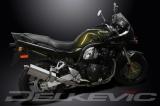 Výfuk Delkevic Suzuki GSF 1200 Bandit (00-05) Nerez Tri-ovál 320mm