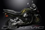 Výfuk Delkevic Suzuki GSF 600 Bandit (01-04) Nerez 200mm