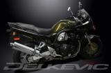 Výfuk Delkevic Suzuki GSF 600 Bandit (01-04) Nerez 450mm