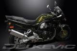 Výfuk Delkevic Suzuki GSF 600 Bandit (01-04) Nerez Tri-ovál 420mm