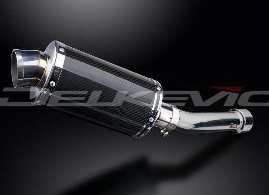 Výfuk Delkevic Suzuki GSF 650 Bandit (05-06) Carbon 225mm
