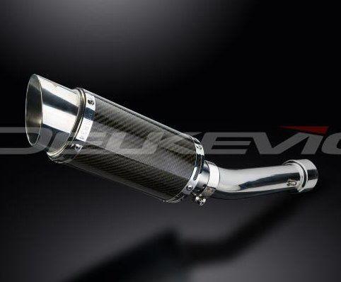 Výfuk Delkevic Suzuki GSF 650 Bandit (05-06) Carbon 200mm