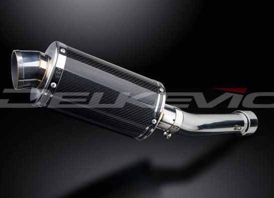 Výfuk Delkevic Suzuki GSF 650 Bandit (07-15) Carbon 225mm