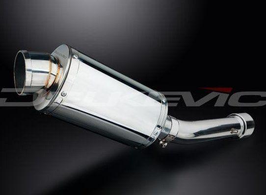 Výfuk Delkevic Suzuki GSF 650 Bandit (07-15) Nerez 225mm