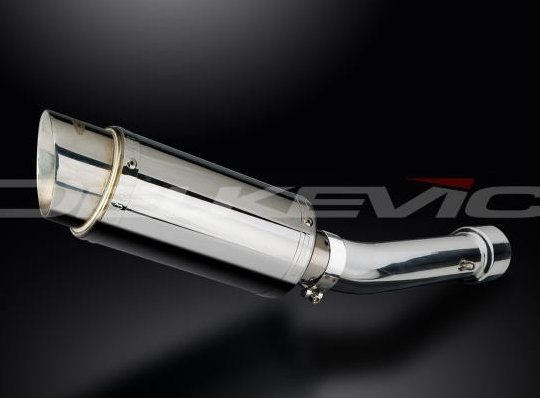 Výfuk Delkevic Suzuki GSF 650 Bandit (07-15) Nerez 200mm