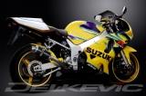 Výfuk Delkevic Suzuki GSX-R 600 (01-03) Carbon 225mm