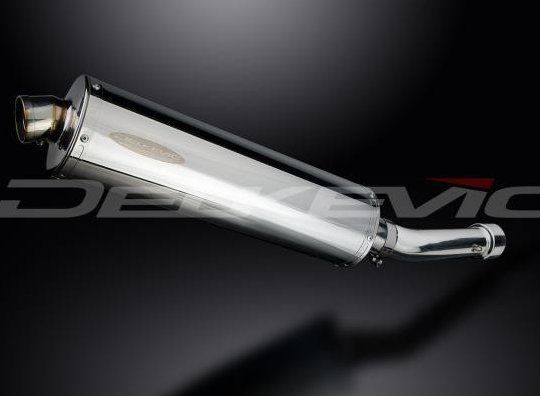 Výfuk Delkevic Suzuki GSX-R 600 (01-03) Nerez 450mm