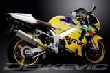 Výfuk Delkevic Suzuki GSX-R 600 (01-03) Nerez Tri-ovál 420mm