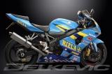 Výfuk Delkevic Suzuki GSX-R 600 (04-05) Nerez Tri-ovál 420mm