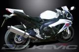 Výfuk Delkevic Suzuki GSX-R 600 (08-10) Nerez Tri-ovál 420mm