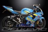 Výfuk Delkevic Suzuki GSX-R 750 (04-05) Carbon 225mm