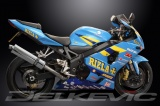 Výfuk Delkevic Suzuki GSX-R 750 (04-05) Nerez 450mm