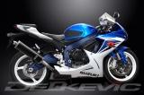 Výfuk Delkevic Suzuki GSX-R 750 (11-15) Carbon 450mm