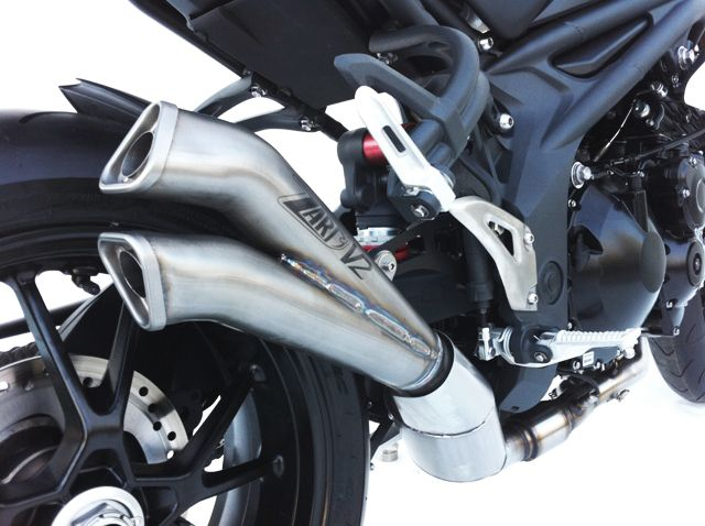 Výfuk Zard Triumph Speed Triple 1050 (07-10) V2