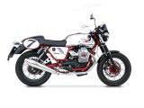 Výfuky Zard Moto Guzzi V7 Cafe Racer (09-15) Black