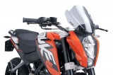 Plexi Puig KTM 125 Duke (11-18) Naked new Gen.