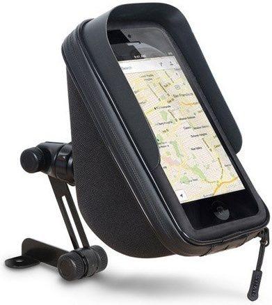 """Držák na Mobil, nebo GPS Shad 6,6"""" na zrcátko s úložným prostorem"""
