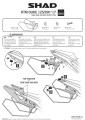 Podpěry pro boční brašny KTM Duke 125 (17-19) Shad