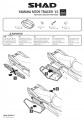 Podpěry pro boční brašny Yamaha Tracer 900 (15-17) Shad