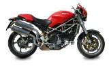 Výfuky Mivv Ducati Monster S2R 1000 (06-) Oval Nerez