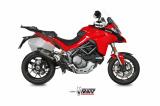 Výfuk Mivv Ducati Multistrada 1200 (15-17) Oval Titan + svody