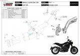 Výfuk Mivv Benelli Leoncino 500 (17-20) Double Gun