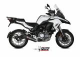 Výfuk Mivv Benelli TRK 502 (17-20) Carbon oval