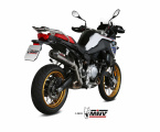 Výfuk Mivv BMW F 850 GS (18-20) Carbon oval