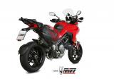 Výfuk Mivv Ducati Multistrada 1260 (18-20) Delta Race Black + svody