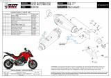 Výfuk Mivv Ducati Multistrada 1260 (18-20) Delta Race Black