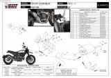 Výfuk Mivv Ducati Scrambler 800 Icon / Classic (15-16) GP Carbon