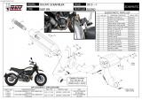 Výfuk Mivv Ducati Scrambler 800 Icon / Classic (15-16) Suono Black