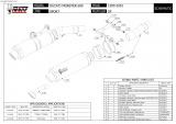 Výfuky Mivv Ducati Monster 600 (99-01) GP Titan