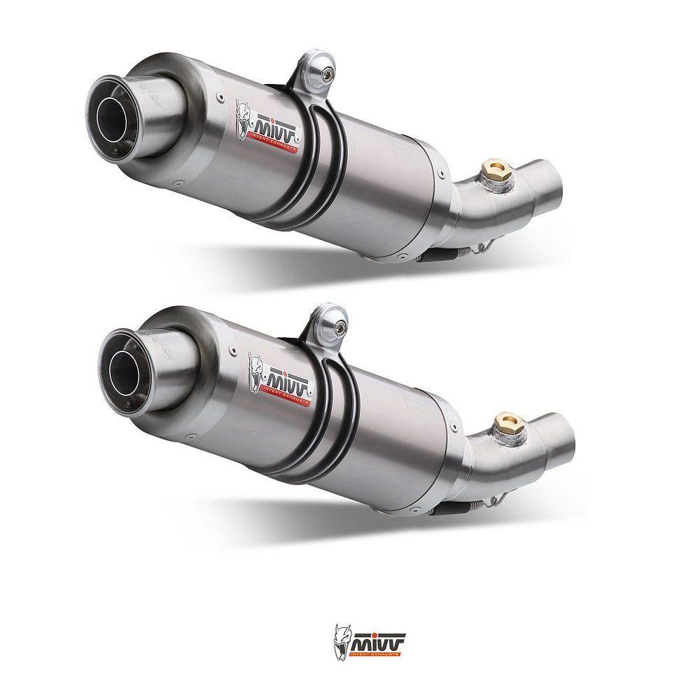 Výfuky Mivv Ducati Monster 750 (99-02) GP Titan