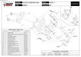 Výfuky Mivv Ducati Monster S4RS (06-08) GP Carbon