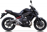 Výfuk Ixil Kawasaki Versys 650 (12-13) Nerez X černý