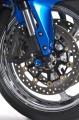 Padací protektory do přední osy kola Triumph Street Triple 675R (od 2009) RD moto