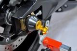 Padací protektory do zadní osy kola Yamaha R1 (02-03) RD moto