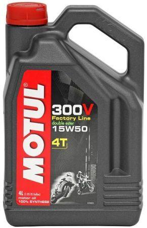 Motul 300V 4T 15W-50 4L