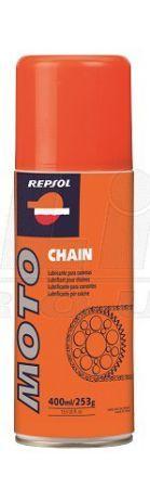 Olej na řetěz ve spreji - Repsol Moto Chain Lube 400ml