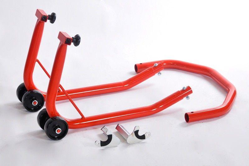 Stojan na moto - zadní montážní stojan pro rolny rozkládací RD moto